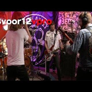 Death Alley - Over Under Live bij 3voor12 Radio
