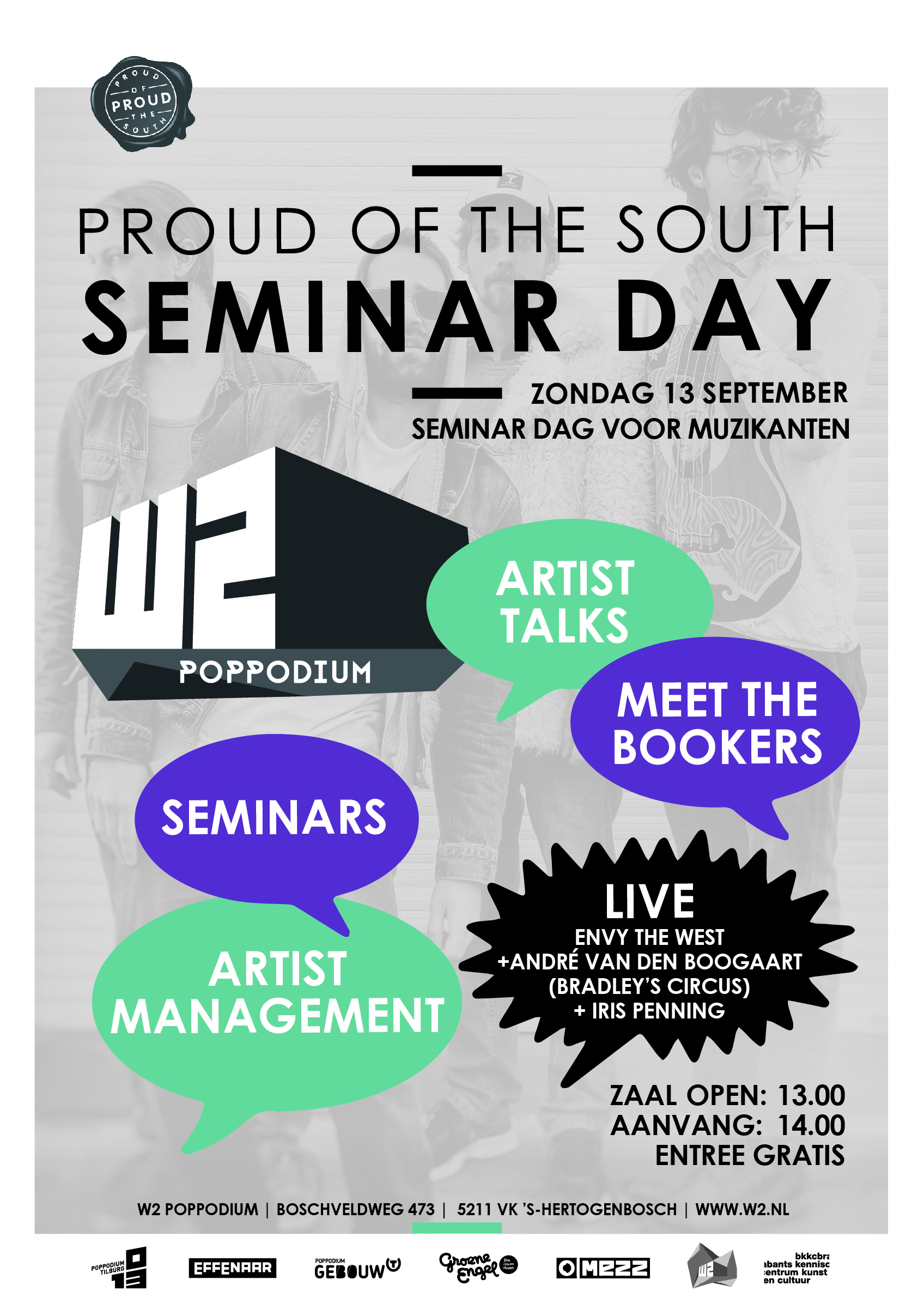 Flyer Proud Of The South seminar day